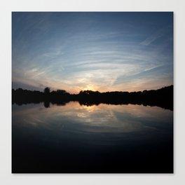 Wide Sunset Canvas Print