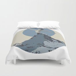 mountains 2 Duvet Cover