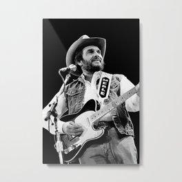 Merle Haggard poster Metal Print