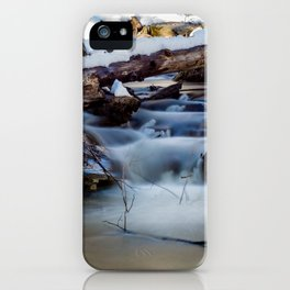 Winter Flow iPhone Case