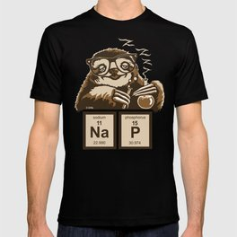 Chemistry sloth discovered nap T-shirt