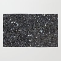 labrador Area & Throw Rugs featuring Labrador Emerald Pearl Granite by Patterns and Textures