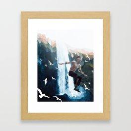 A Free Spirit Framed Art Print
