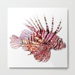Ocean Dream - Lion Fish Metal Print