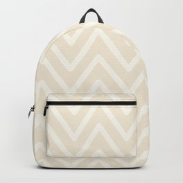 Chevron Wave Bisque Backpack