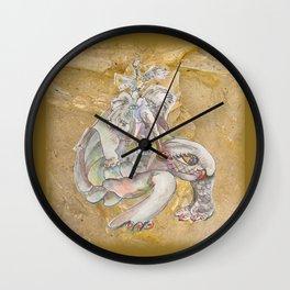 Ancient Bones Wall Clock