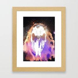 Cthulu's Skull Framed Art Print
