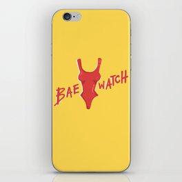 Bae-watch iPhone Skin