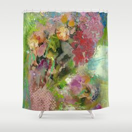 Bright Bouquet Shower Curtain