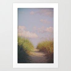 To the Shore Art Print