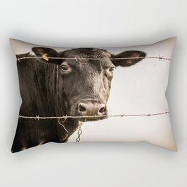 How Now, Brown Cow? Rectangular Pillow