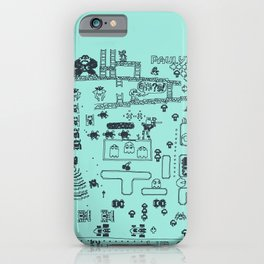 Retro Arcade Mash Up iPhone Case