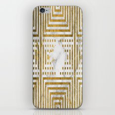 Marble and Gold Pattern #2 iPhone & iPod Skin
