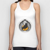 volleyball Tank Tops featuring Karasuno High Volleyball Club by robin