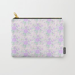 Sweet Rose Lavender Carry-All Pouch