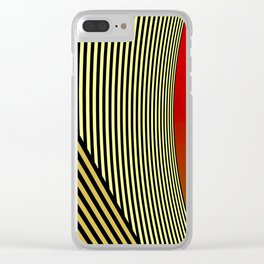 all about timing Clear iPhone Case