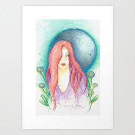 Bella Luna Art Print