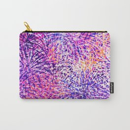 Fireworks Pattern Carry-All Pouch