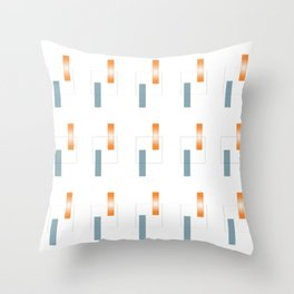 Semi Conductor Throw Pillow