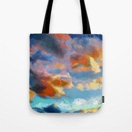 ASHOKAN SUNSET Tote Bag