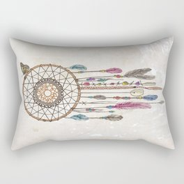 Lakota (Dream Catcher) Rectangular Pillow