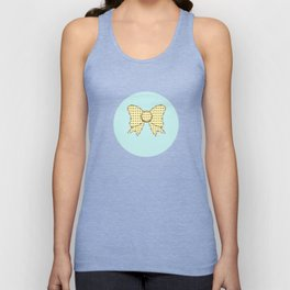 lonely bows 5  Unisex Tank Top