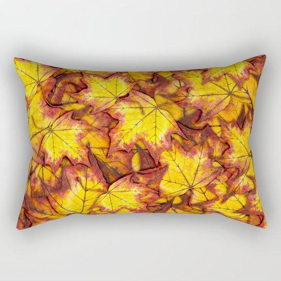 Autumn Leaves 04 Rectangular Pillow