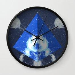 Jelly Triangle Wall Clock