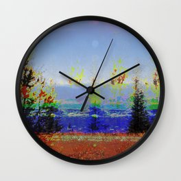 Bug in Nature Wall Clock