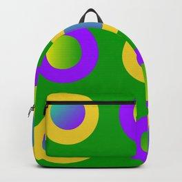 Mardi Gras Polka Dots Backpack