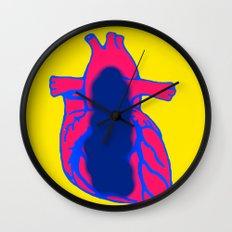 Vacant Heart Wall Clock
