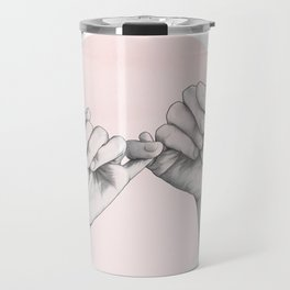 pinky swear // hand study Travel Mug