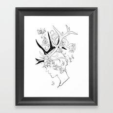 Cupid's Crown Framed Art Print
