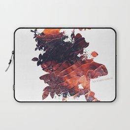 Mask Flow Fire Laptop Sleeve