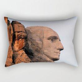 George Washington (Mount Rushmore) Rectangular Pillow