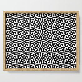 optical pattern 67 Serving Tray