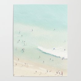 beach summer fun Poster