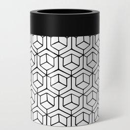 Hand Drawn Hypercube Can Cooler