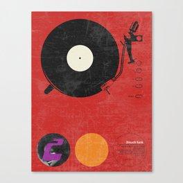 2 much Funk Canvas Print