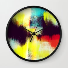 A Subdued Trance Wall Clock
