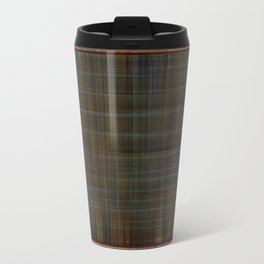 Patched plaid tiles pattern Travel Mug