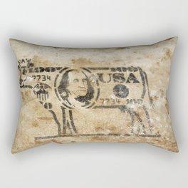 Cash Cow Rectangular Pillow