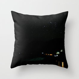 Night at the southern skies IV Throw Pillow