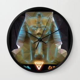 Pharao Ramses II. Wall Clock