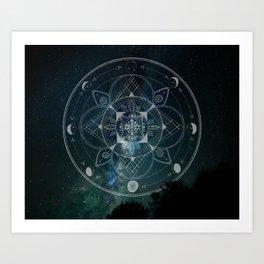 Starcode Art Print