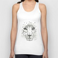 cheetah Tank Tops featuring Cheetah by STATE OF GRACCE