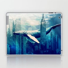 Blue Whale in NYC Laptop & iPad Skin