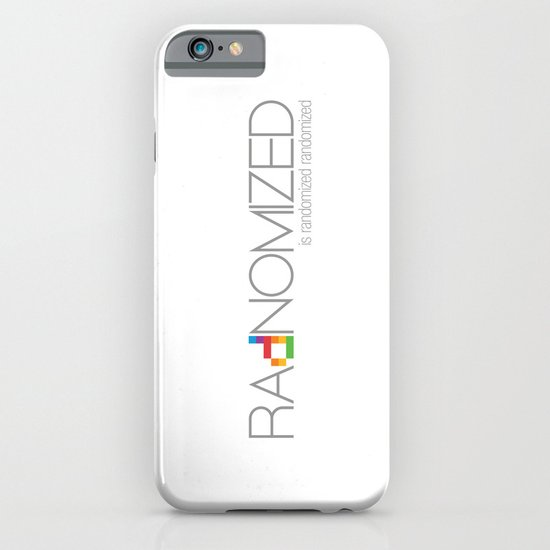 RAdNOMIZED Logo iPhone & iPod Case
