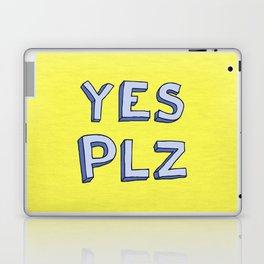 Yes PLZ Laptop & iPad Skin