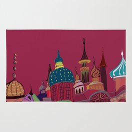 Russia in color Rug